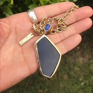 Vintage Blue Agate Bracelet